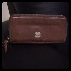 Lucky Brand leather vintage wallet
